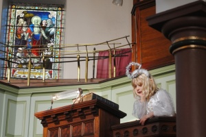 Heptonstall Methodist Church nativity