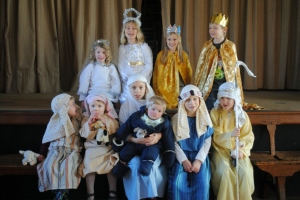 Heptonstall Methodist Church nativity group