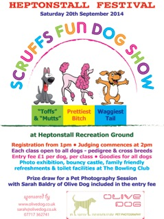 scruffs fun dog show - front