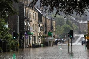 hebden flood