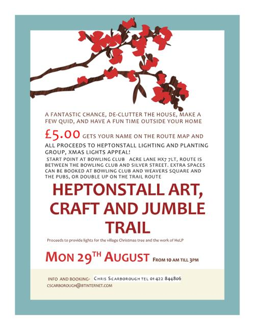 Jumble trail booking details 500