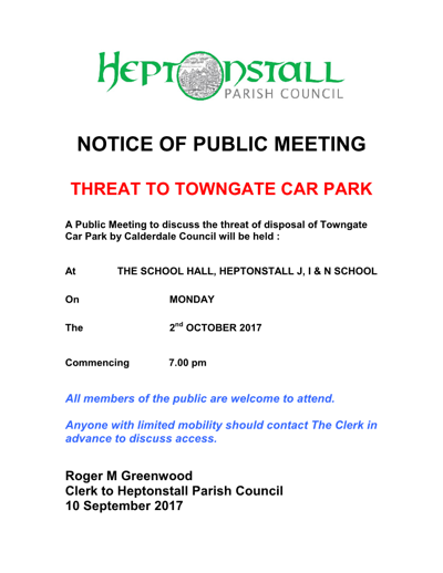 ADMIN.POSTER.Notice of Public Meeting 400