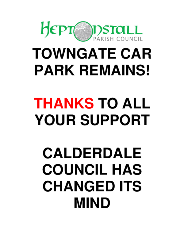 ADMIN.POSTER.Towngate Car Park.10.17